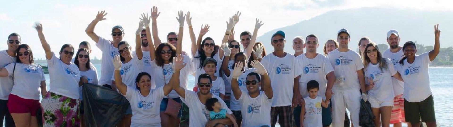 Dia Internacional da Água. VICEL promove ação em Rio das Ostras